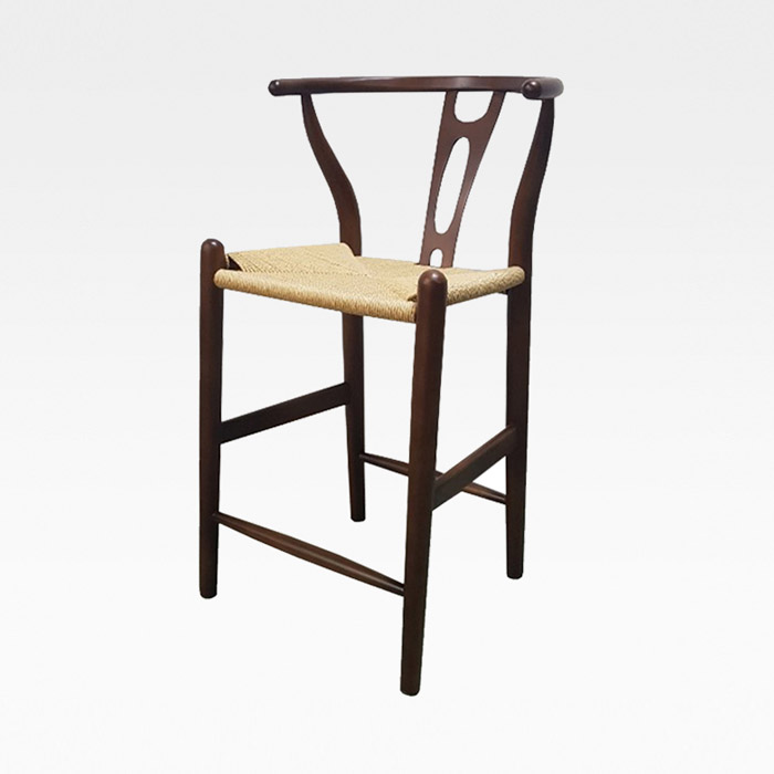 AHB-307 비치목 바텐 의자