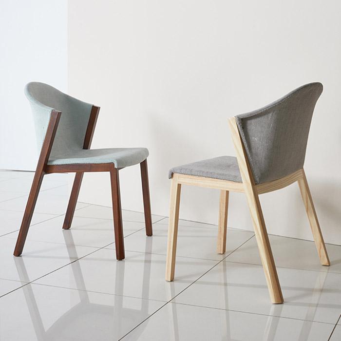 AHW-267/목재 식탁 의자 인테리어 다이닝 카페 체어