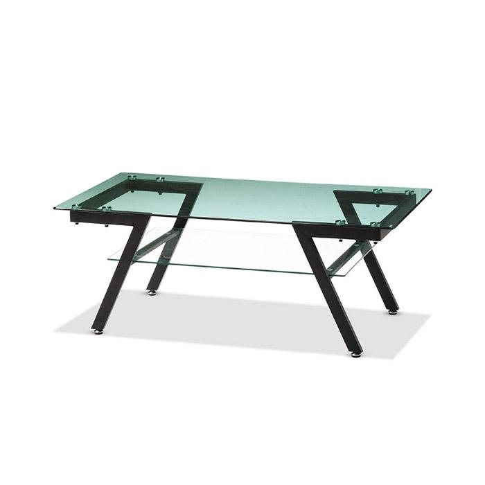 유리 소파테이블 AJD-024/중역용 사무용 사무실 탁자 좌탁