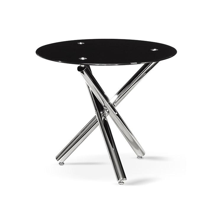 유리원형 테이블 AJD-025/회의용 사무용 사무실 응접 다용도
