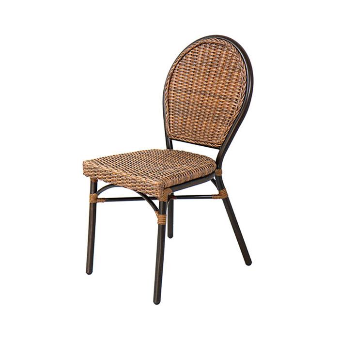 AK 모리셔스/업소용 야외 식당 식탁 의자 라탄 체어
