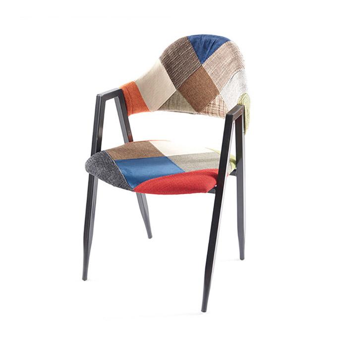 AK 비올렛/업소용 식당 식탁 의자 철제 카페 체어