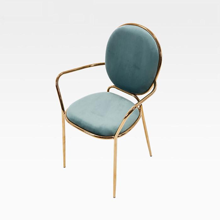AK 테슬라암/인테리어 카페 식탁 의자 골드 디자인 체어