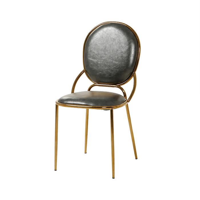 AK 테슬라/인테리어 카페 식탁 의자 골드 디자인 체어