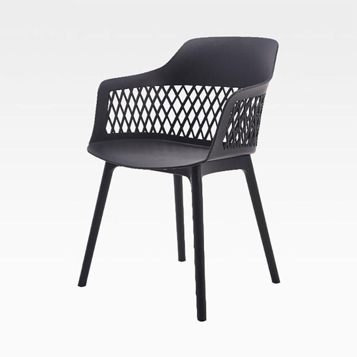 AKP 아이작/인테리어 플라스틱 의자 식탁 카페 체어