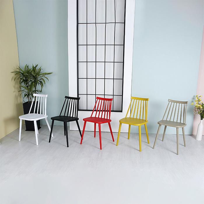 AKP 소피아/인테리어 플라스틱 의자 식탁 카페 체어