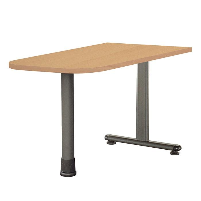 FU 스퀘어 U형 보조책상(B형)/테이블 사무용 사무실