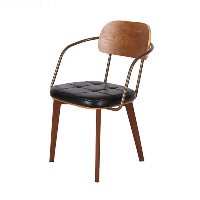 BEC-029/인테리어 철재 식탁 의자 카페 다이닝 체어