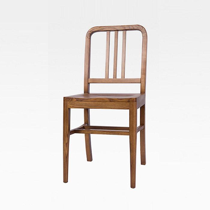 BEW-095 고무나무 목재의자