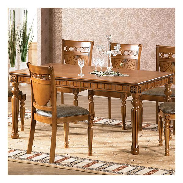 카오스 6인식탁테이블