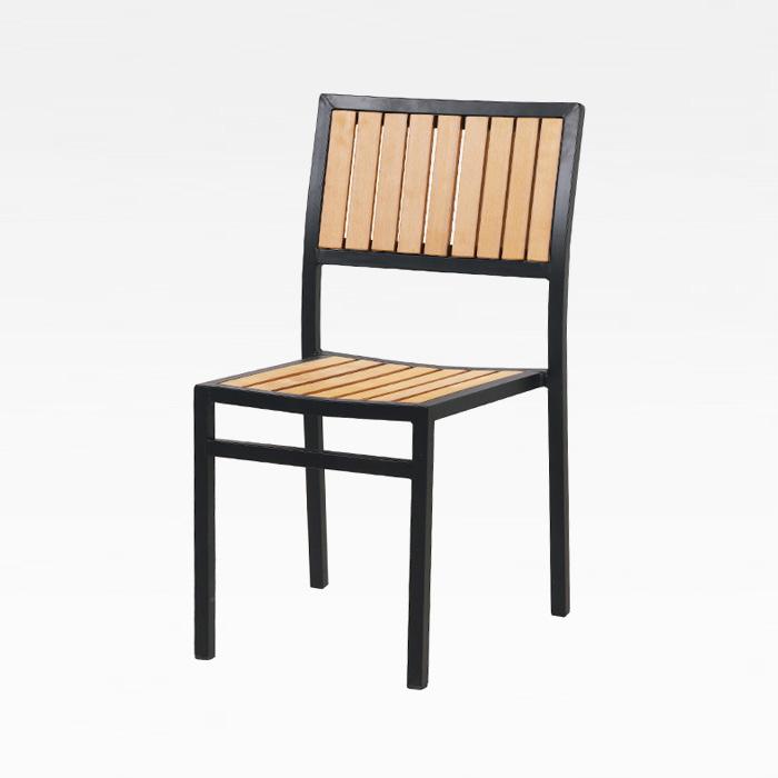 CEA-016 수지목방석 알루미늄 의자