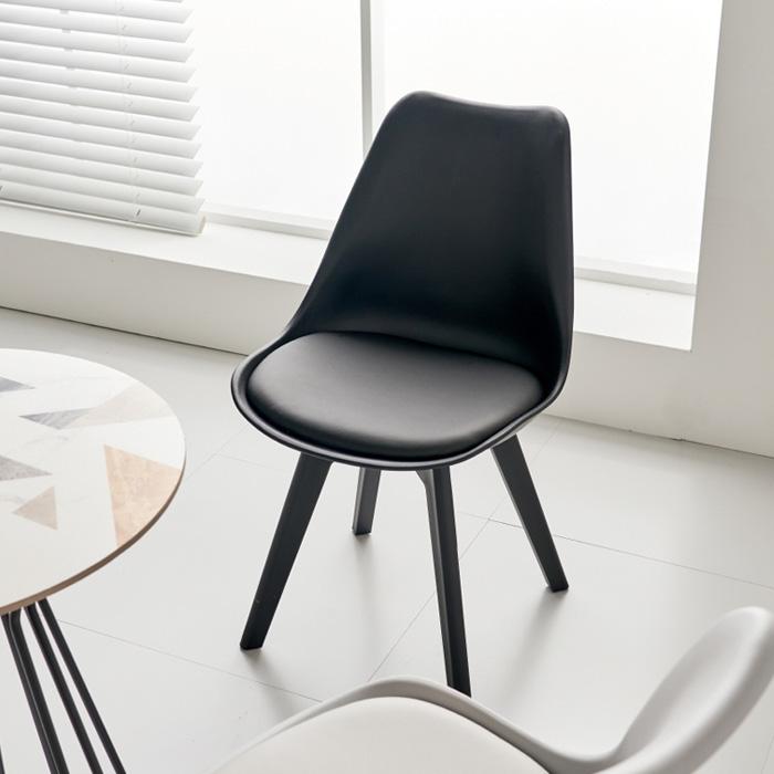 CEP-448 PU방석 플라스틱 의자