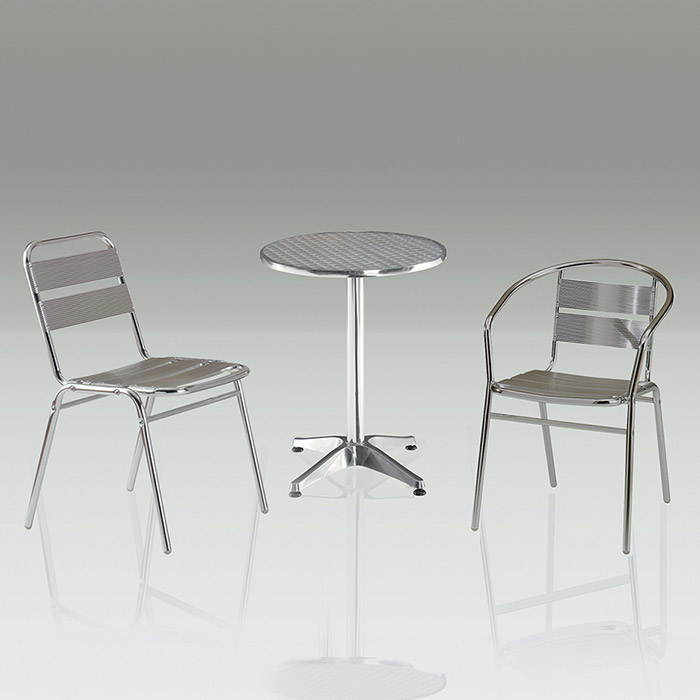 CET-22 철재+알루미늄 테이블 (원형/사각) 야외