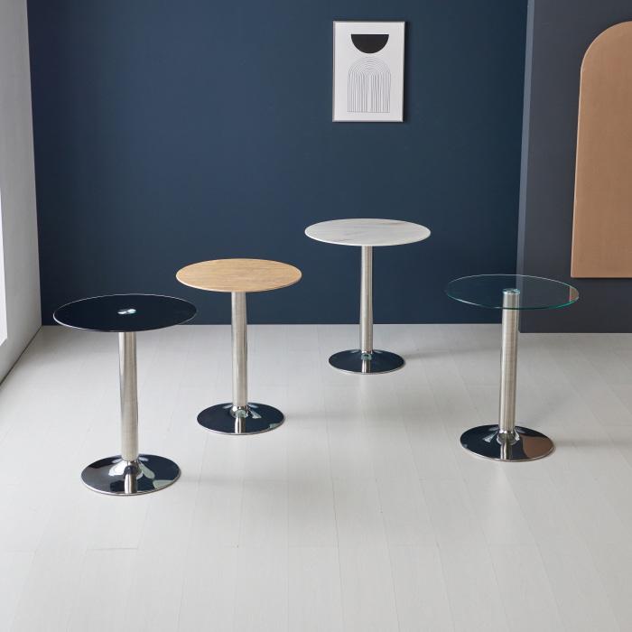 CET-701 강화유리 테이블 Φ600