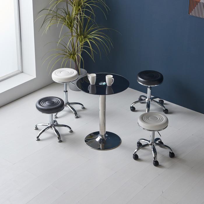 CET-701 강화유리 테이블 Φ700