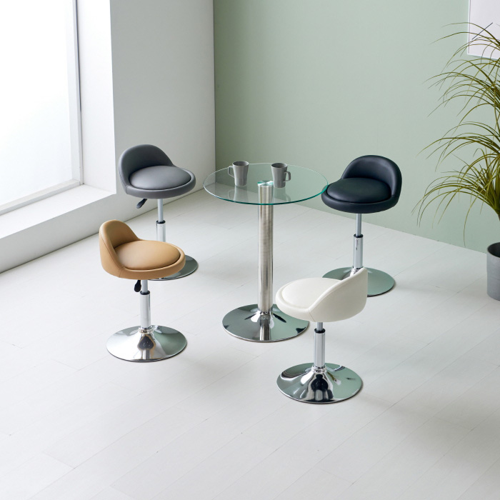 CET-701 강화유리 테이블 Φ900