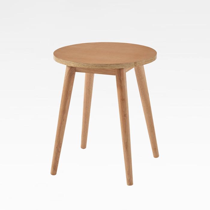 CET-76 고무나무 원형 테이블 700파이