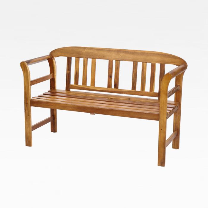 CEU-520 수지목 2인 벤치의자