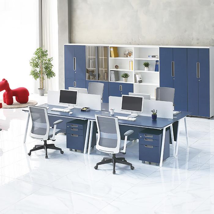 A-LINE 사무용 책상 목재가림판 국산