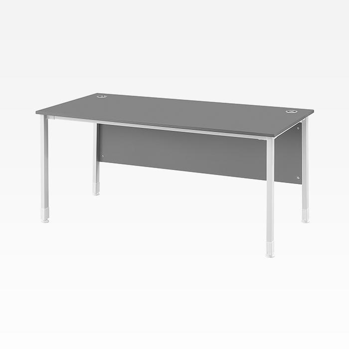 DF 일자형 책상 목재가림판 국산