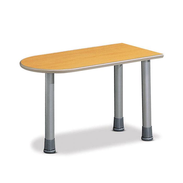 TOP U형 테이블 홀다리형/보조 책상 회사 사무용 가구