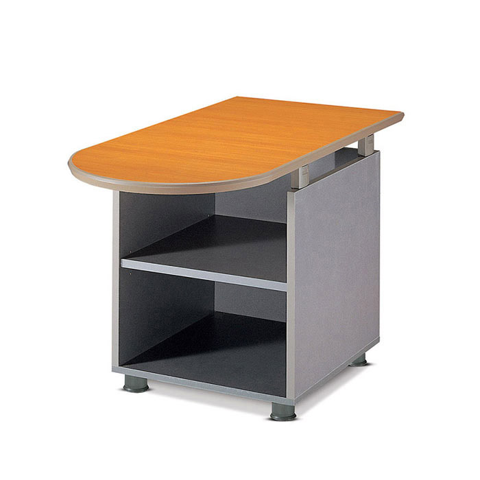 TOP U형 테이블 독립형/수납 보조 책상 사무용 가구