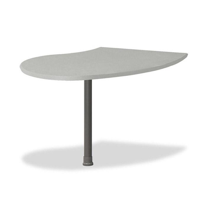 TOP 피넛 라운드형/보조 책상 테이블 사무용 가구