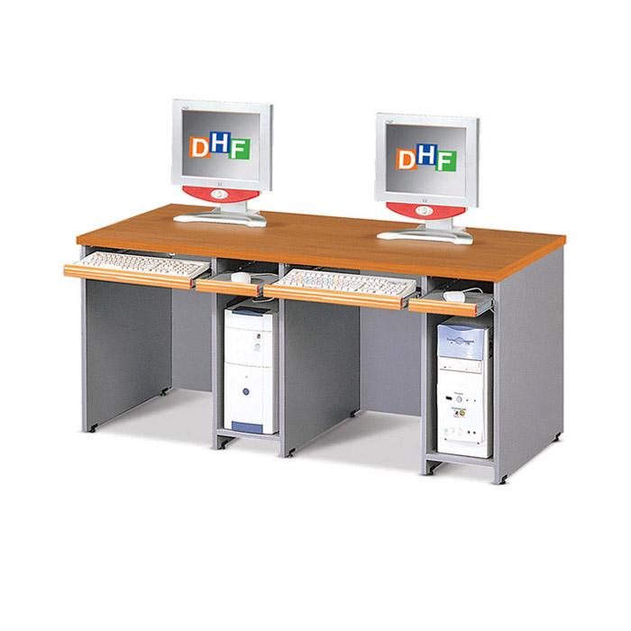 2인용 컴퓨터 책상 주문제작/학교 학원 교구 PC방