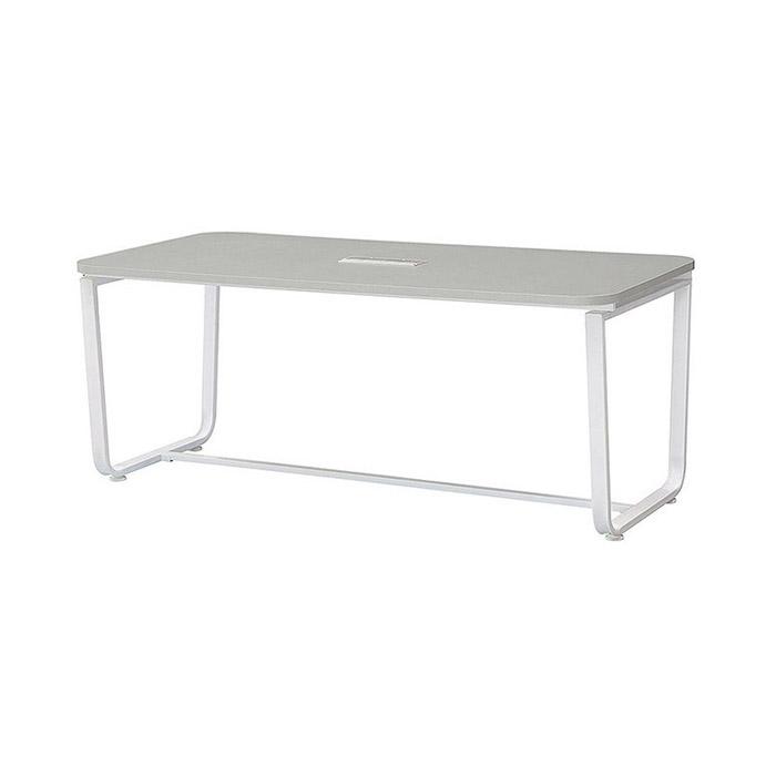 U-LINE 회의용 테이블(샌드그레이)/회사 사무용 가구