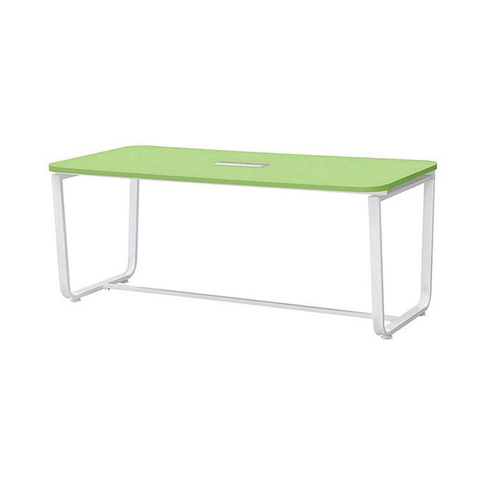 U-LINE 회의용 테이블(그린)/사무실 사무용 가구