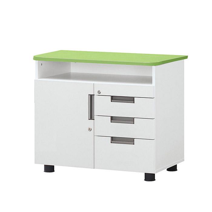 U-LINE 사이드 서랍장/수납 서류함 테이블 보조 책상