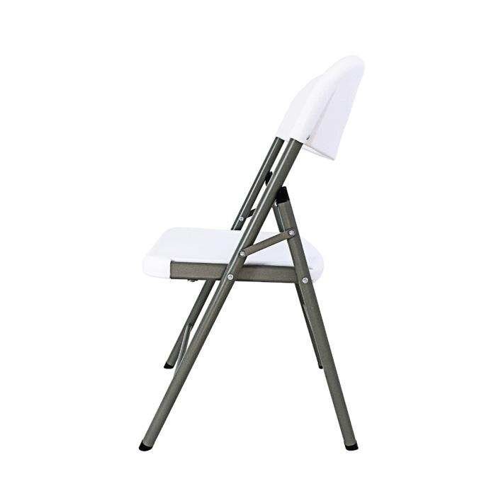 CLS 에이 접이식 철재의자 브로몰딩플라스틱등방석