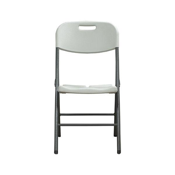 CTS 비엠 접이식 철재의자 HDPE방석