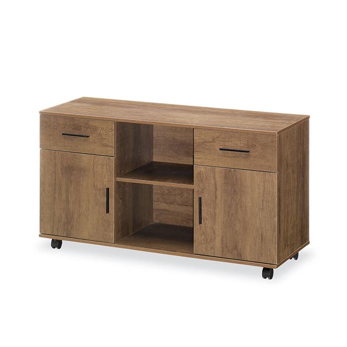 DE 이동식 사이드책상/중역용 사무용 수납 보조테이블