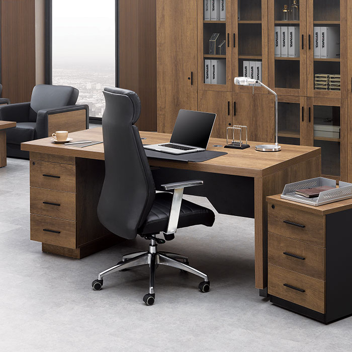 DE 지그 중역 책상/사무용 컴퓨터 사무실 서재 가구