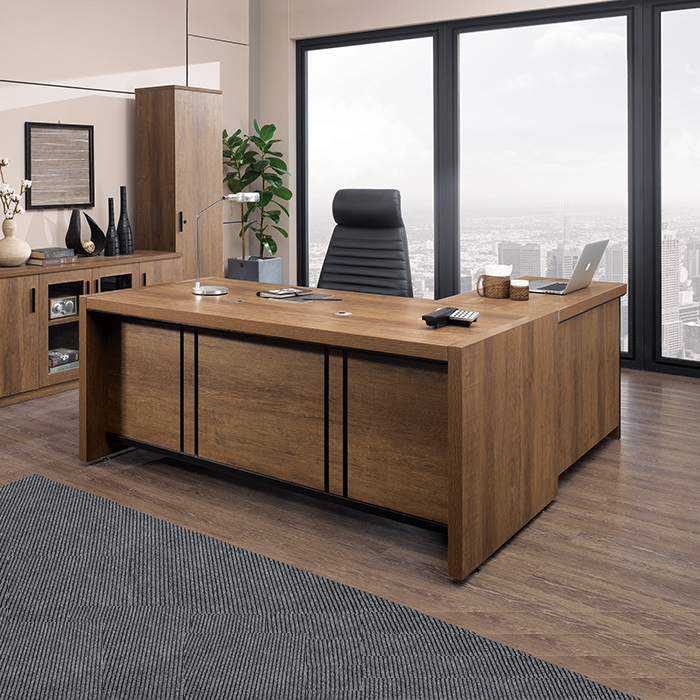 DE 유나이트 중역 책상/사무용 컴퓨터 서재 가구