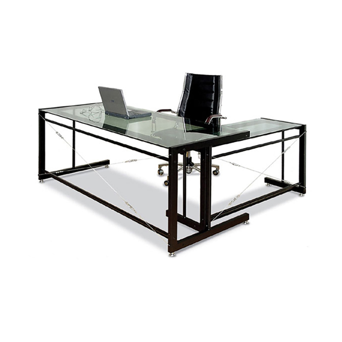 EC-2261 유리 책상/ 사무용 컴퓨터 사무실 서재 가구