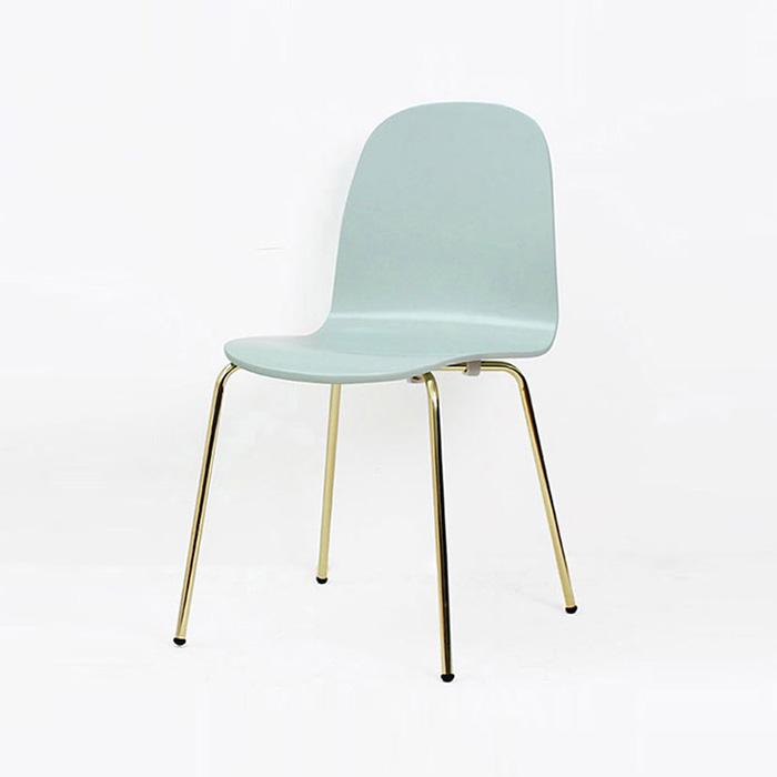 ED 모닝/인테리어 식탁 의자 카페 디자인 골드 체어