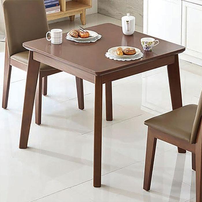 DL001 2인식탁테이블(브라운)