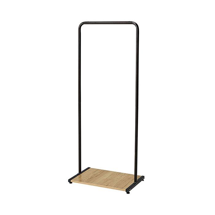 레나 행거 A형(블랙)/옷걸이 철재 스탠드 드레스룸
