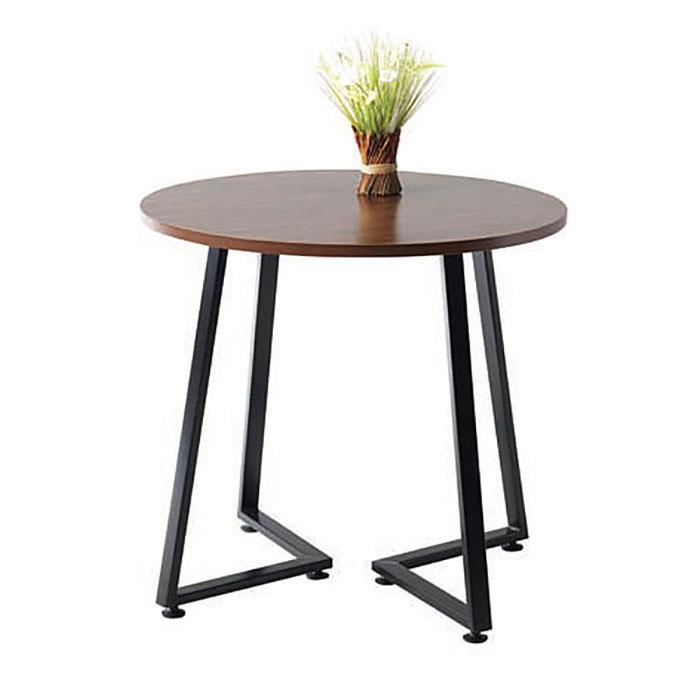 노이 데칼 원형테이블/목재 원목 식탁 카페 다용도