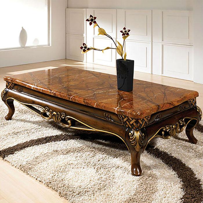 다빈치 대리석 소파테이블