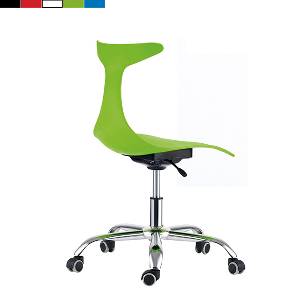 GA-061C/높낮이 조절 보조 의자 이동형 바퀴 의자