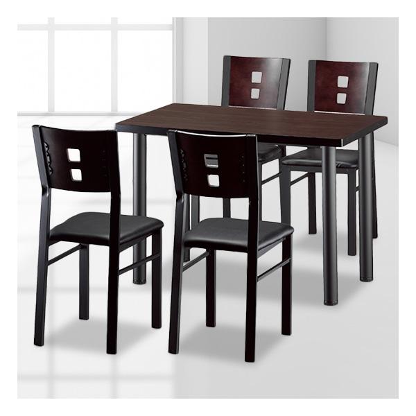 식탁테이블 4인세트 투항다리+각등의자