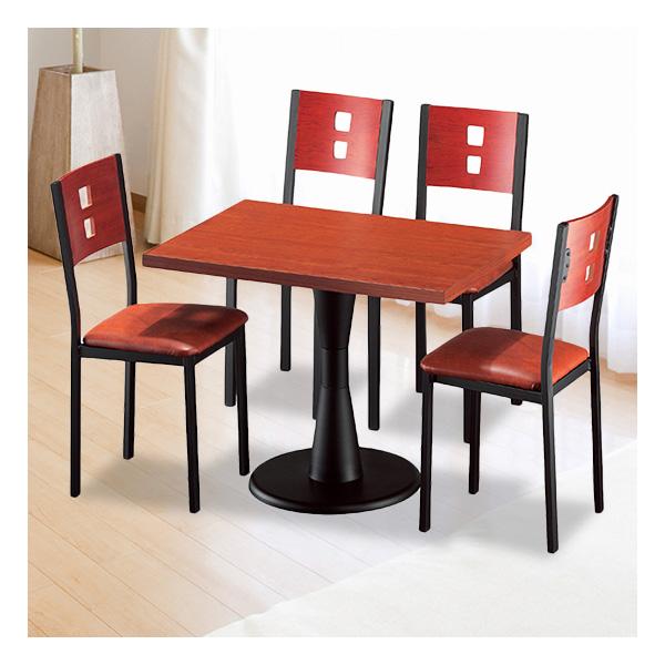 식탁테이블 4인세트 HK 원반다리+각등의자
