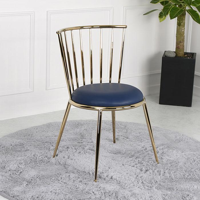 HPS-370 스테인리스 골드 의자