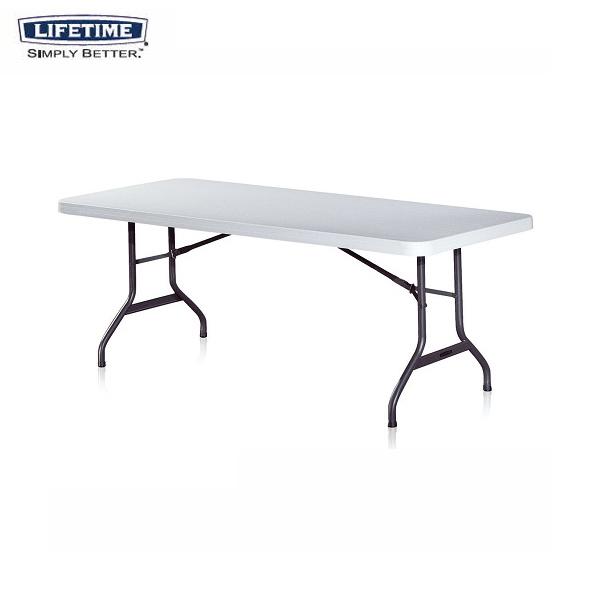 브로몰딩 상판고정식 테이블 AT-BS6 [미국 라이프타임 정품]