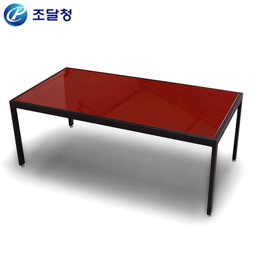유리소파테이블 HRT-022/사무용 좌탁 유리 쇼파 탁자