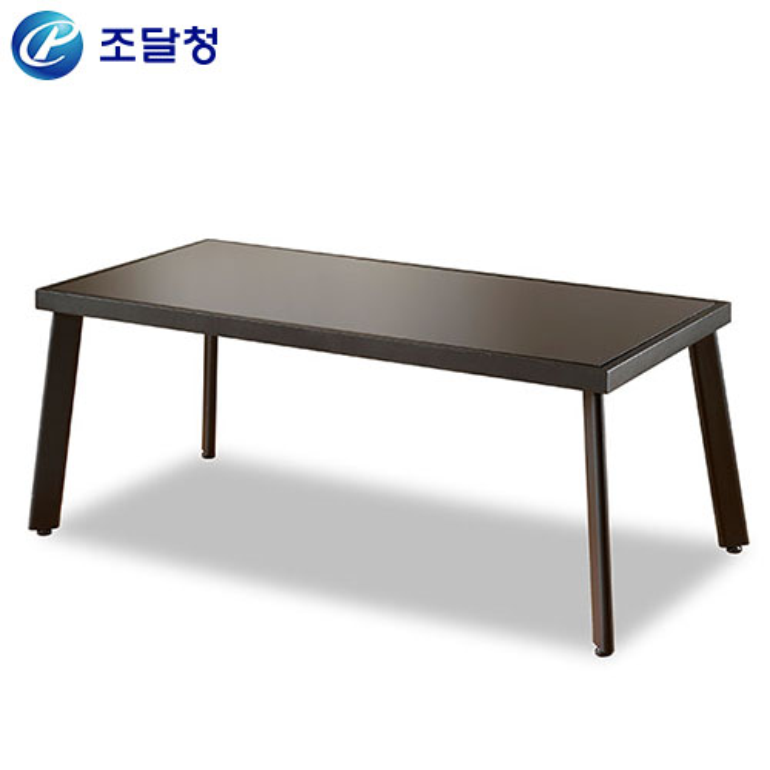 유리소파테이블 HRT-023/사무용 좌탁 유리 쇼파 탁자