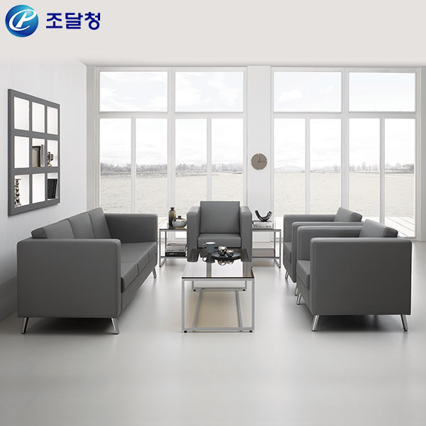 사무용소파 HRS-037(1인/3인)/사무용 인조가죽 쇼파